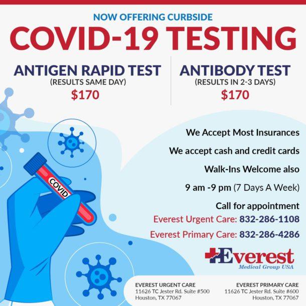 Curbside Covid 19 Testing